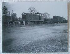 "7 1/2"" x 9 3/4"" B & W PHOTOGRAPH B & O RAILROAD TRAIN LOCOMOTIVE NO 9416 CARS jj"