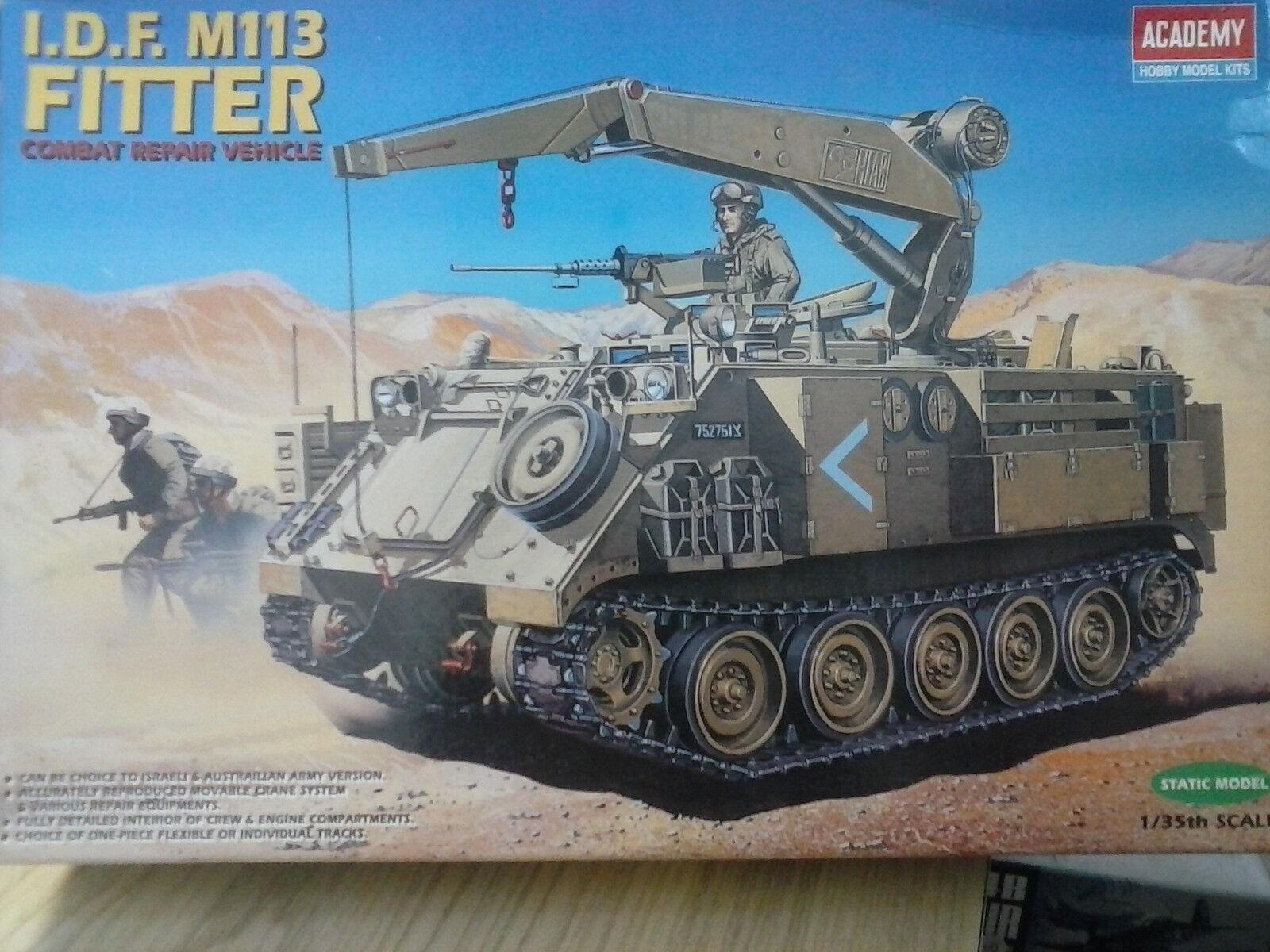 ACADEMY 1 35 MEZZO MILITARE I.D.F. M113 FITTER COMBAT REPAIR VEHICLE  ART 1388