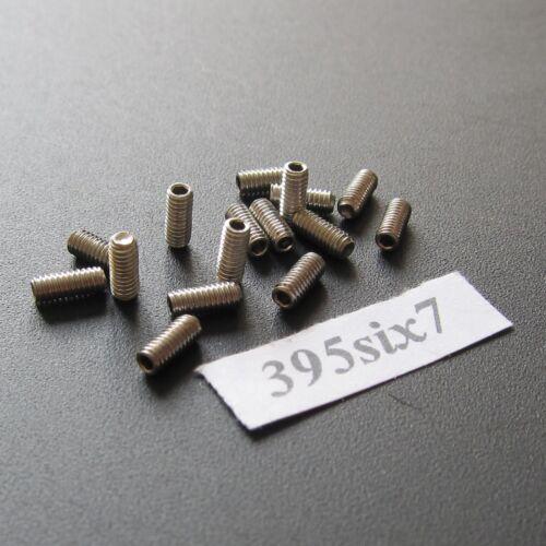 16x Hex Socket Grub Stainless Screw M2.5 x 6mm