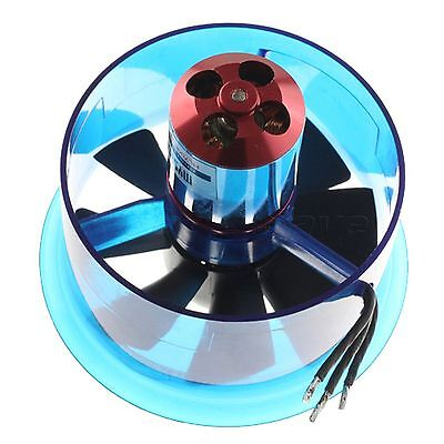 """3900KV Brushless Motor 70mm 0.23"""" RC Ducted Fan EDF 70 For Helicopter Airplane"""