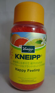Kneipp Badesalz Happy Feeling Grapefruit & Blutorange 2 X 600g
