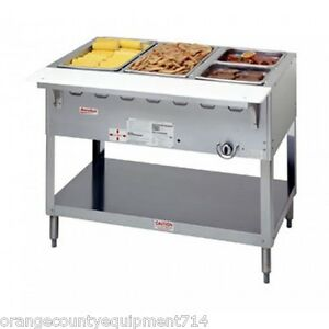 New 3 Well Lp Propane Steam Table Duke Aerohot Wb303 Lp