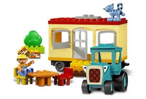 LEGO 3296 - Duplo Bob the Builder - Travis & & & the Mobile Caravan - 2005 - NO BOX d9ea9c