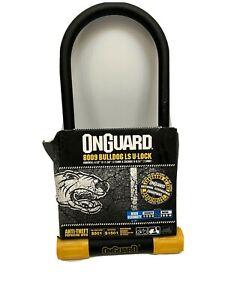 "OnGuard Bulldog LS 8009 U-lock Bike Hardened Double Locking 4.5/"" x 11.5 /"" Long"