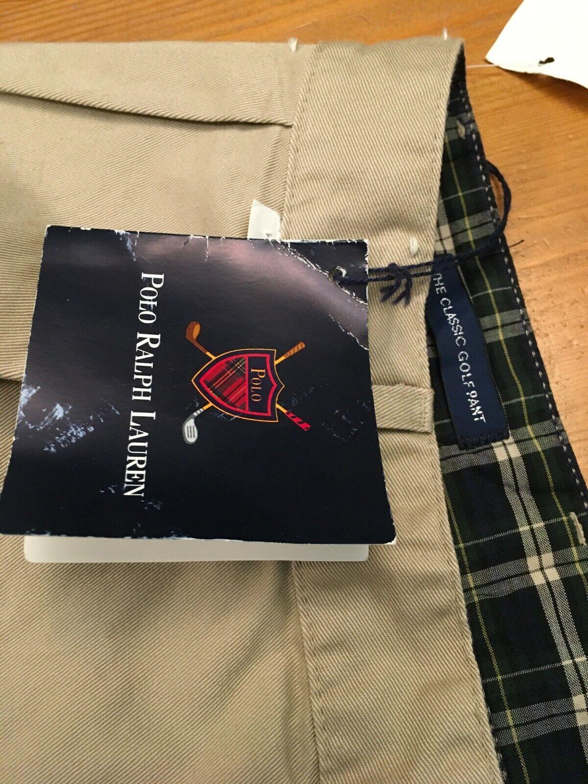 VTG 80s NOS Polo Ralph Lauren Classic Golf Pants … - image 2