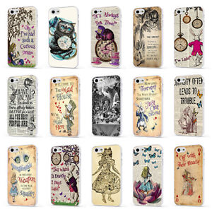 ALICE IN WONDERLAND DISNEY QUOTE WHITE PHONE CASE COVER for iPHONE ...