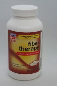 Rite-aid-Fiber-Therapy-by-Rite-Aid-250-Capsules-100-Psyllium-Fiber-Exp-10-18