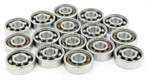 Wholesale Lot 100 Open Inline Roller Blades Skate Ball Bearing 608 w//Light Cage