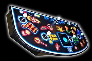 4 player arcade panel