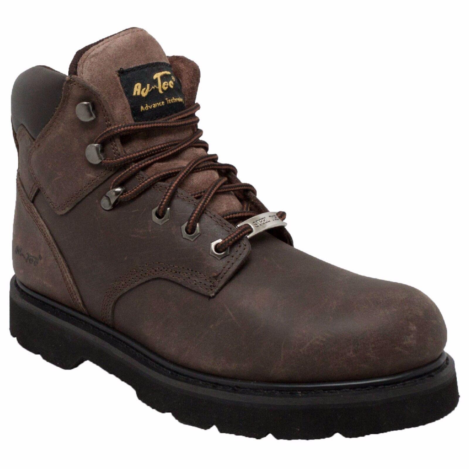 9415 AdTec Brown, Men's 6'' Work Leather Boot