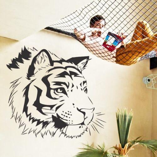 Tiger Kopf Afrika Wandtattoo Wallpaper Wand Schmuck 54 x 58 cm