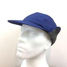 4fe311826fb Gap Blue Nylon Trapper Hat With Ear Flaps Sherpa Fleece Lined Men s Size M    L
