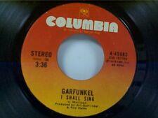 "GARFUNKEL ""I SHALL SING / FEUILLES-OH / DO SPACE MEN PASS DEAD SOULS ON....."" 45"