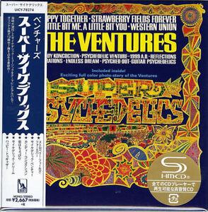 VENTURES-SUPER PSYCHEDELICS-JAPAN MINI LP SHM-CD Ltd/Ed G00
