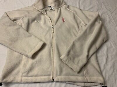 Columbia Sportswear Womens Size XL Full Zip Breast Cancer