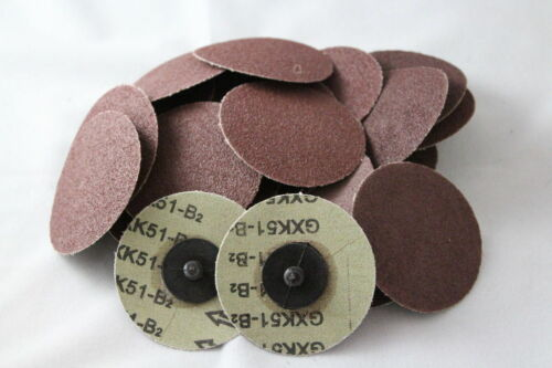"25pc IIT 3/"" Roloc Discs 240 GRIT R Type Sanding Abrasive Roll Lock Coarse 82082"