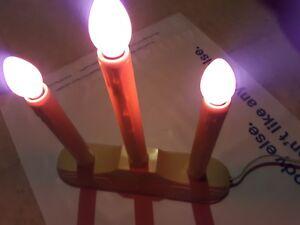 Vintage-Noma-3-Lite-Candolier-Candelabra-in-box-Candle-Light-Display