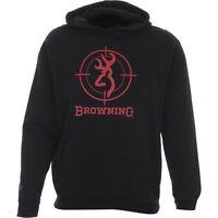 Browning Crosshair Hooded Sweatshirt - Size Large Hoodie - Color Black -