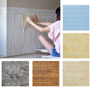 KE-3D-Wood-Grain-DIY-Brick-Wall-Paper-Self-Adhesive-Home-Background-Wall-Stic