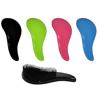 Hair Brush Comb Salon Styling Magic Detangling Handle Tangle Hairbrush Tamer