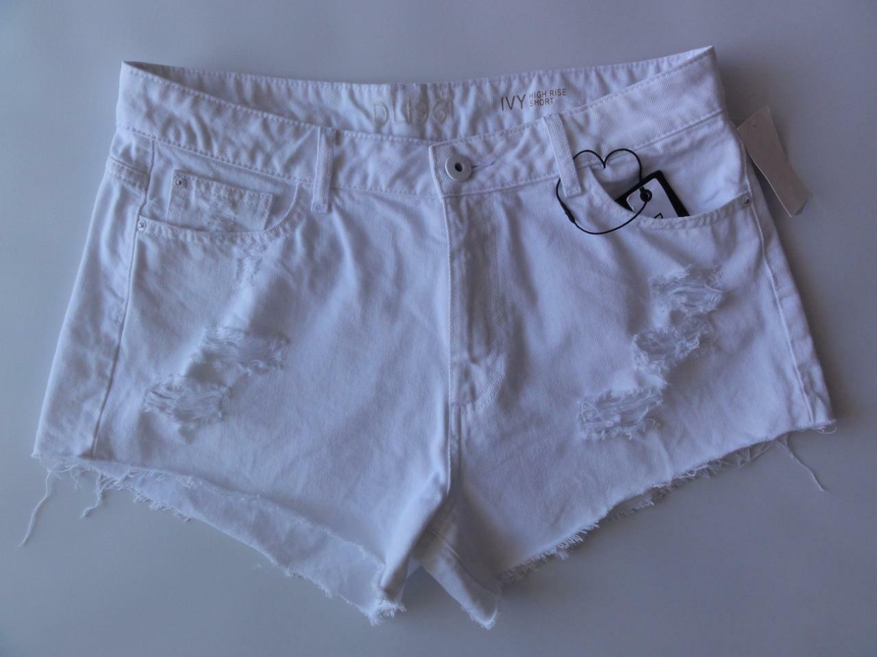 DL1961 IVY CUTOFF HIGH RISE SHORT, Frost, Size 32, MSRP  103