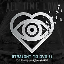 ALL TIME LOW-STRAIGH TO DVD 2 PAST PRESENT AND FUTURE HEARTS-JAPAN CD+DVD F56
