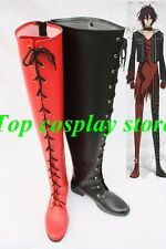 Amnesia: SHIN The Dark Descent Cosplay Boots Shoes shoe boots red black