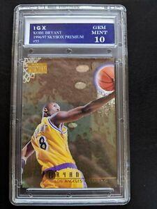 KOBE BRYANT 1996-97 SkyBox Premium #55 Rookie Card RC 10 Gem Mint Lakers HOF