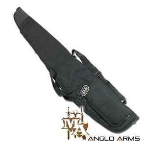Padded-Air-Rifle-Gun-Carry-Case-Pocket-Black-Gunslip-Shotgun-Bag-Scope-NGT