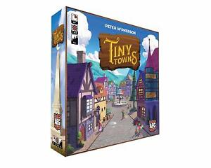 Tiny Towns Board Game SEALED UNOPENED FREE SHIPPING