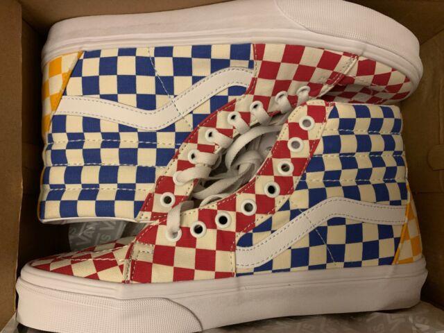 Vans Sk8-Hi Checkerboard Multicolor