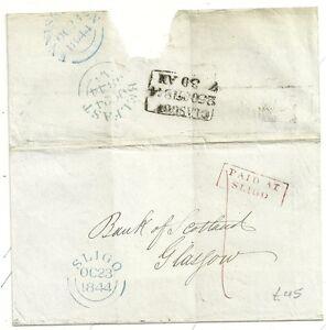 1844-IRELAND-RED-FRAMED-PAID-AT-SLIGO-ON-WRAPPER-TO-BANK-OF-SCOTLAND-GLASGOW