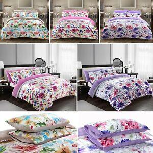 New-Luxury-Plush-Velvet-Duvet-Quilt-Cover-With-Pillowcases-Bedding-Set-All-Sizes