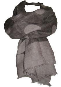 TRANSAT BOUTIQUE CHECHE ECHARPE FOULARD PAREO SUSY MIX POIS TAUPE ... 129db4344bb