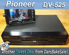 Pioneer DV-525 DVD VCD CD CD-RW CD-R Player - Tested - Works Great - No Remote