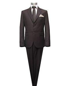 Slim-fit Muga Herren Anzug *1371*Gr.52 Braun - Deutschland - Slim-fit Muga Herren Anzug *1371*Gr.52 Braun - Deutschland