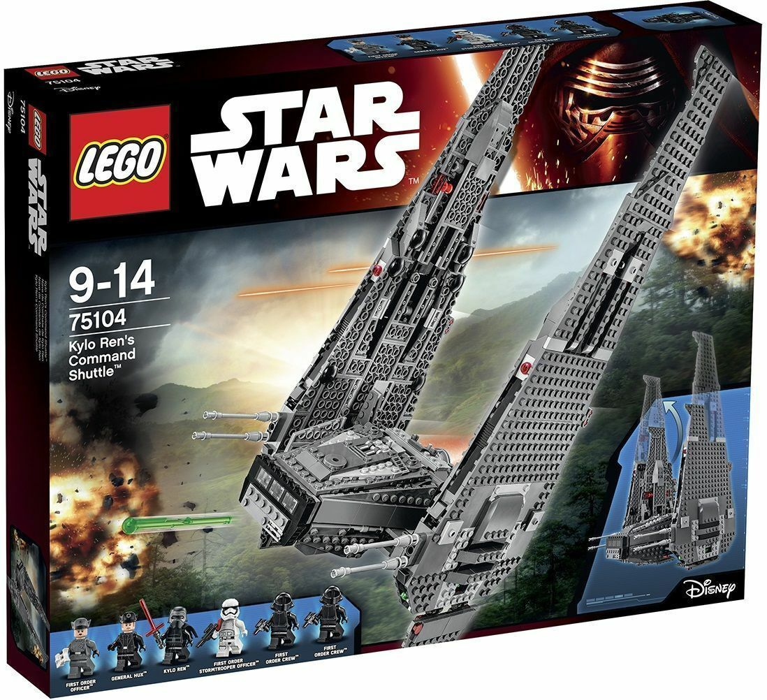 LEGO STAR WARS 75104 Kylo Ren's Comand Shuttle