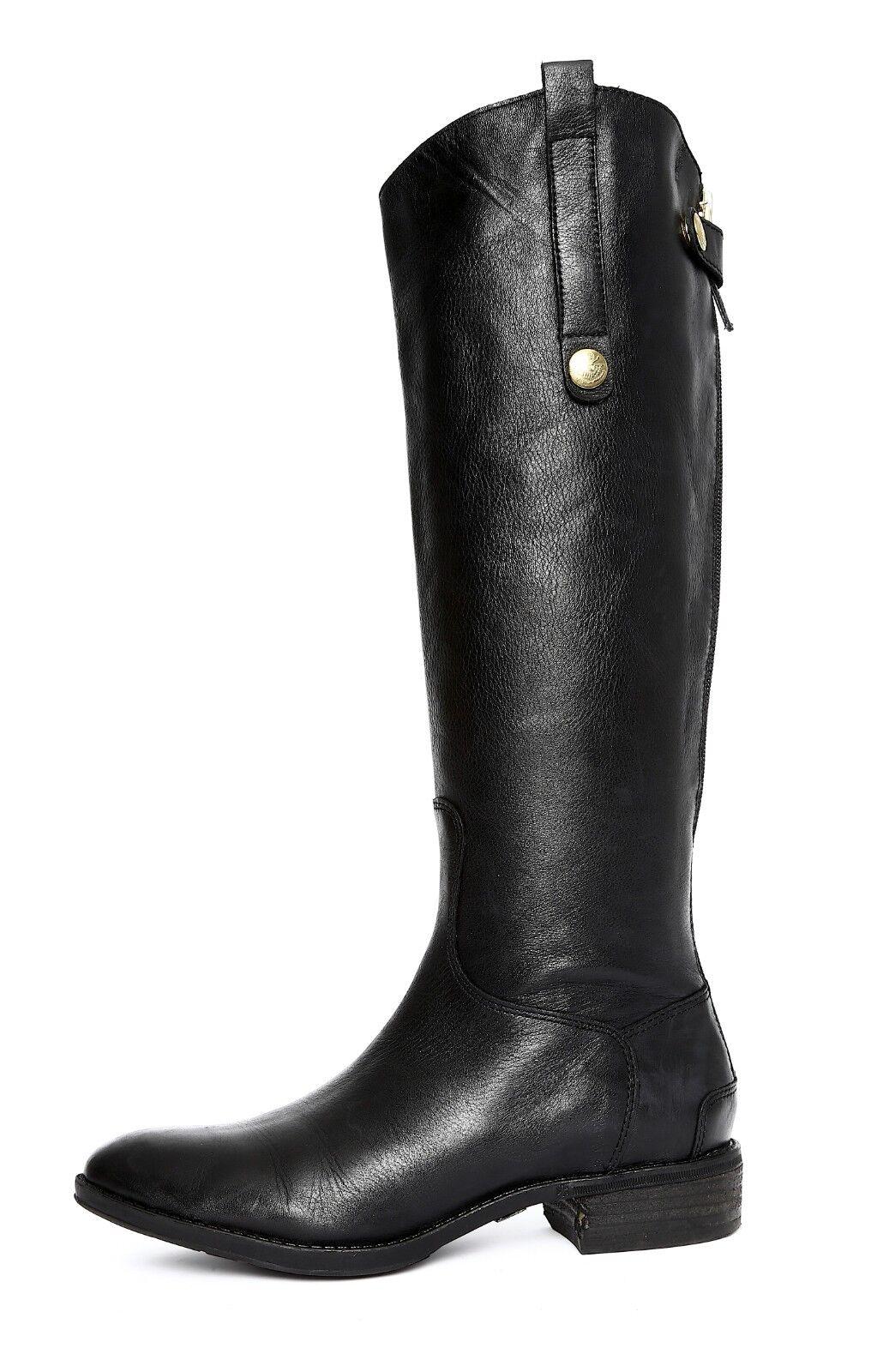 Sam Edelman Penny Womens Black Boot Sz 6.5 3382