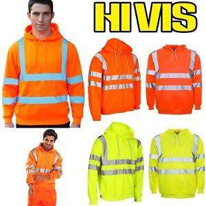 Sweat à Capuche Hi Vis Sweat-shirt Haute Visibilité Sécurité Sécurité Incendie Work Wear Pull-afficher Le Titre D'origine Axkyxixa-07223902-601794085