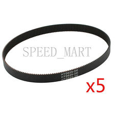 5pcs 525-3M HTD Timing Belt 175 Teeth Cogged Rubber Geared Closed Loop 15mm Wide