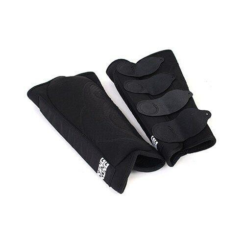 King Kong BMX Djungle Shin Pad Black Pair