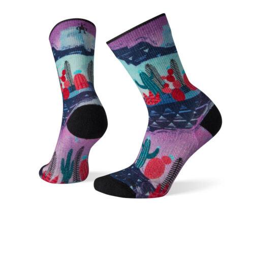 SmartWool Womens PhD Outdoor Crew Socks Multicoloured
