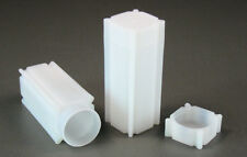 5 CoinsSafe Square Coin Storage Tubes for Quarters 24.3mm