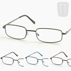 New-High-Quality-Rimmed-READING-GLASSES-Black-Blue-amp-Brown-1-0-1-5-2-2-5-3-0