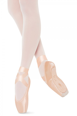 Pink Satin Bloch Triomphe S0139 Pointe Shoes