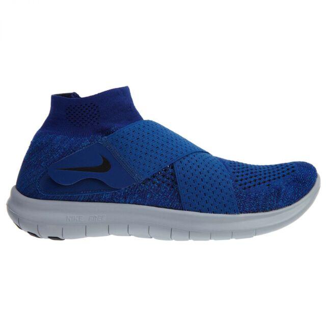 e14bc1ab2b6 Nike RN Motion Flyknit 2017 880845-401 Binary Blue Black DS Size 12 ...