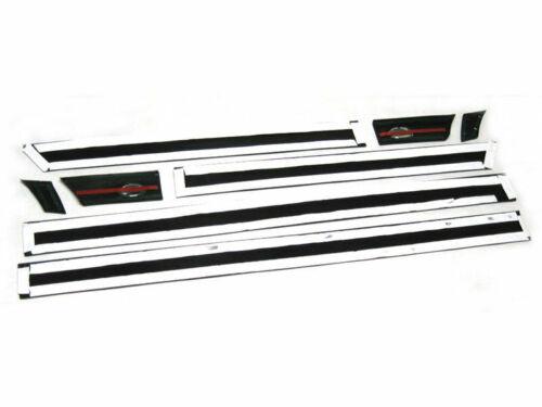 Pour Audi 90 b3 1986-1991 4x moulure Türleisten pages Barres Barres Clips