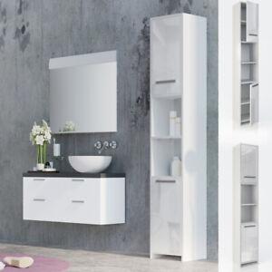 Vicco meuble haut de salle de bain Kiko armoire de toilette blanc ...