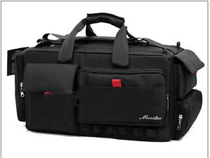 Image Is Loading Large Professional Shoulder Camcorder Bag For Panasonic Hc