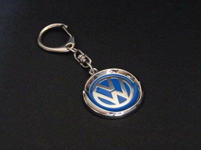 Koolart Cartoon Car Volkswagen VW New Beetle Leather and Chrome Keyring